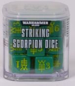 Warhammer 40000 Striking Scorpion dice